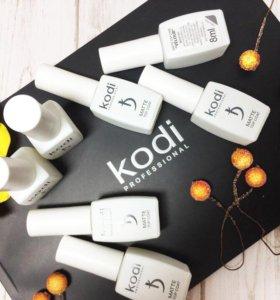 💅 Матовый топ Velur от Kodi Professional 8ml