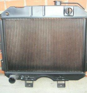 Радиатор хантер медный трёх рядный