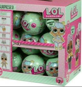 Набор кукол Лол из 9 шаров