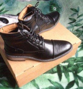 Ботинки Steve Madden Mens Daxx Black 10.5 D (M)
