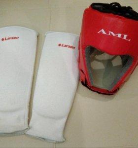 Защита (шлем и щитки)