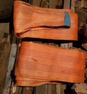 Стропы текстильные большой грузоподъёмностью
