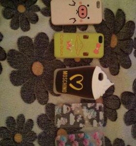 Чехлы на iPhone 5, 5s, se.