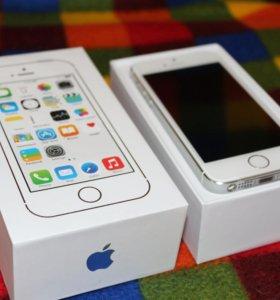 Новый iPhone 5S 16Gb, цвет Silver