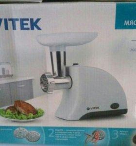 Электромясорубка Vitek новая