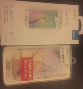 Защитное стекло Samsung galaxy s6 edge