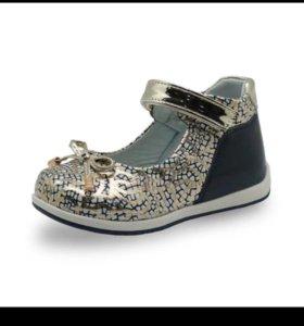 Туфли на девочку,новые,24