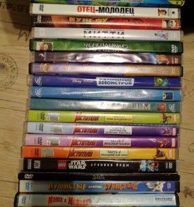 Dvd диски мультфильмы и фильмы