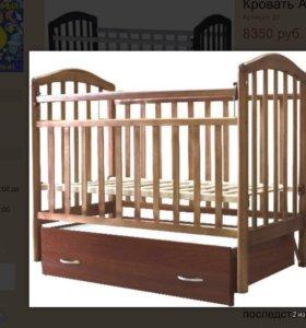 Детская кроватка Алита6