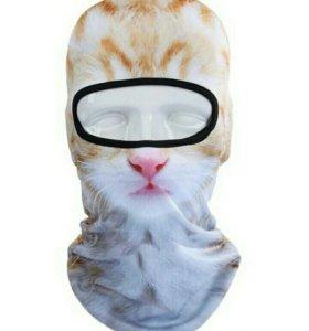 Мото подшлемник кошка киса