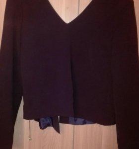 Пиджак с открытой спиной 48 продажа🔔обмен