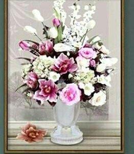 Набор для вышивания крестиком Цветы