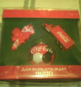 Набор ёлочных украшений Coca Cola