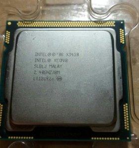 Процессор xeon x3430( аналог i5-750)
