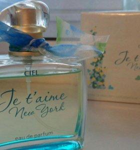 Je tʹaime New York - парфюмерная вода CIEL