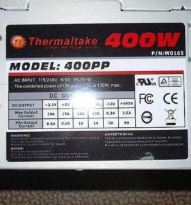блок питания thermaltake 400 w новый