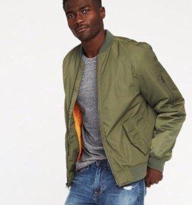 Утепленная куртка Bomber 52-54