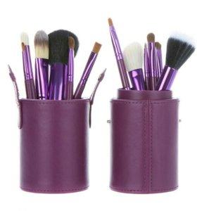 Профессиональные кисти для макияжа. Набор кистей