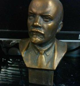 Бюст Ленина силумин