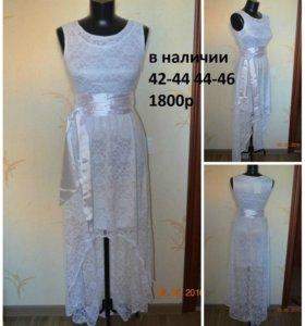 белое платье гипюровое