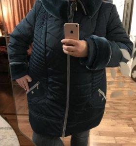 Куртка тёплая 58/60р-р