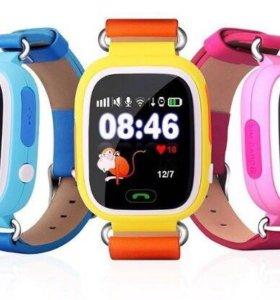 Умные часы,Smart Baby Watch Q80, новые