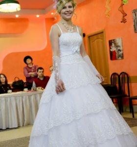 свадебное платье стильное