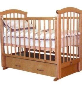 Кроватка для новорожденного Можга