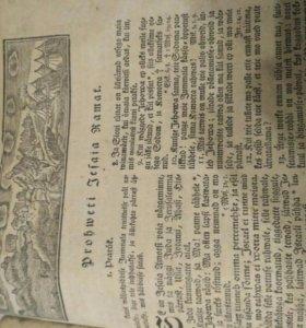 Антиквариат 1773г II издание библия на эстонском