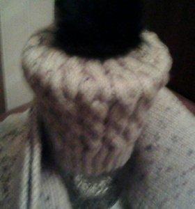 Комплект шарф и шапка.