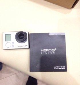 Экшн камера GoPro 3+ silver
