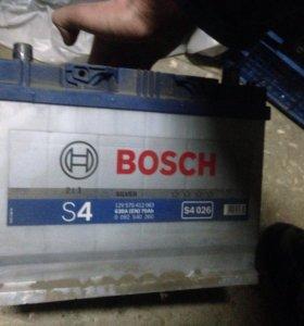 Аккумулятор bosch s4 70ah