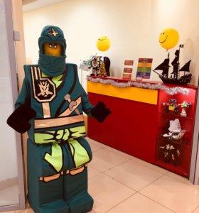 Прокат Лего-костюма ростовая кукла Ниндзяго