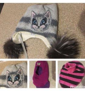 Продаю зимние шапки 100% шерсть
