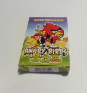 """Карты игральные """"Angry Birds"""""""