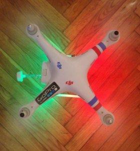 Квадрокоптер DJI Phantom 2 с подвесом GoPro