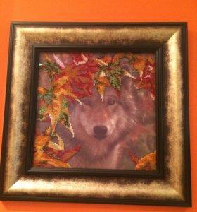 Картины - волки