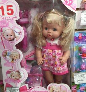 Новая интерактивная кукла.