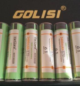 Аккумуляторные батареи 18650