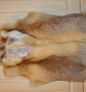 Жилетка из натурального меха лисы