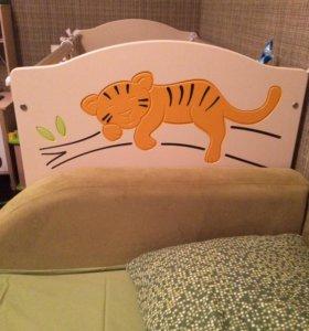 Кроватка meblik safari