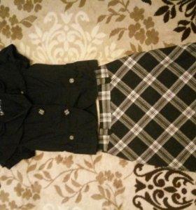 Пиджак и юбочка