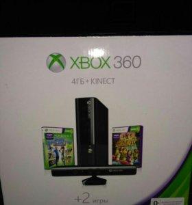 Игровая консоль Microsoft Xbox 360 4GB+Kinect