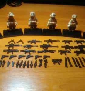 Лего военные минифигурки