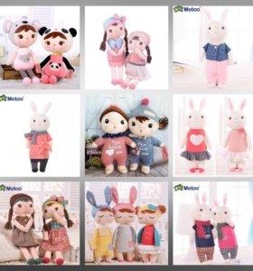 Куклы Metoo, плюшевые игрушки