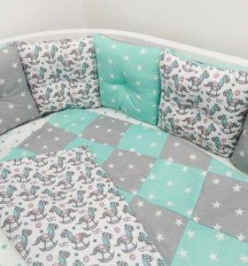 Ботики в кроватку малыша