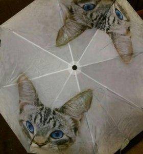 Зонт НОВЫЙ полуавтомат