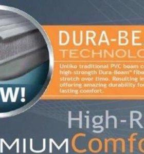 Надувная кровать - матрас с насосом Intex