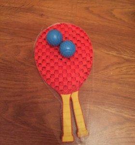 Набор для игры в теннис( Новый)