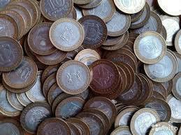 Монеты биметалл области обмен монет